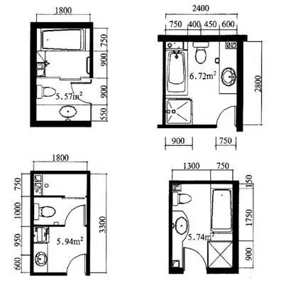 公寓常见尺寸规范,你别用错了