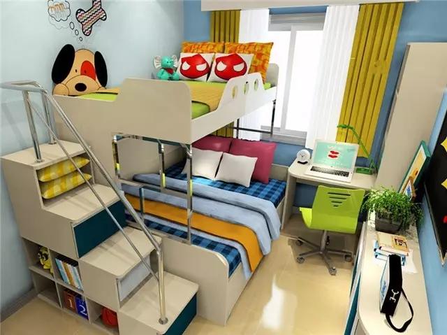 儿童房这样设计,20年都不用换!
